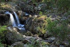 Waterfall. On Myanba Gorge walking track near Bombala, NSW, Australia Royalty Free Stock Photos
