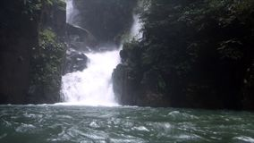 Waterfall at Namtok Phlio National Park Chanthaburi Thailand. A Waterfall at Namtok Phlio National Park Chanthaburi Thailand stock video