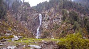 Waterfall in Naran Kaghan valley, Pakistan Stock Image