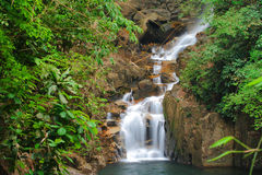 Waterfall in national park Stock Images
