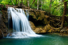 Waterfall in National Park Stock Photography