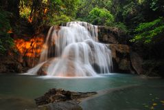 Waterfall. In National Park Royalty Free Stock Image
