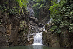 Waterfall National Park, Chanthaburi, Thailand. Royalty Free Stock Photo