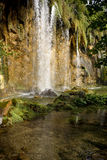 Waterfall in national park in Croatia. Europe Stock Photography