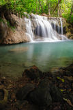 Beautiful waterfall in National Park ,Thailand. Royalty Free Stock Images