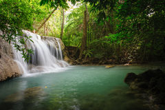 Beautiful waterfall in National Park ,Thailand. Stock Photography