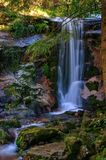 Waterfall in National Park of Peneda Geres stock photos