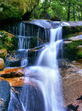 Waterfall in National Park of Peneda Geres royalty free stock photos