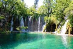 Croatia. Plitvice lakes. royalty free stock images
