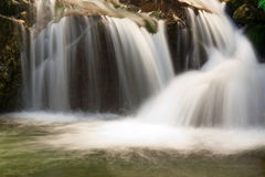 Waterfall in national park Rila stock photos