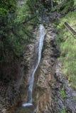 Waterfall in National park Slovak Paradise, Slovakia. Waterfall in National park Slovak Paradise in Slovakia stock photos