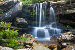 Waterfall in national park of Thailand Stock Photography