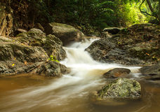 Waterfall in the national park Royalty Free Stock Images