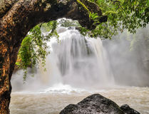Waterfall in national Park Royalty Free Stock Photo