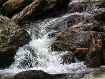 Waterfall nature park water forest royalty free stock image