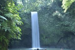 Waterfall Tibumana royalty free stock photos