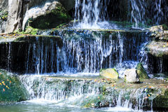 Waterfall, nature Royalty Free Stock Photos
