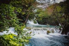 Waterfall nature croatia plitvize Royalty Free Stock Photography