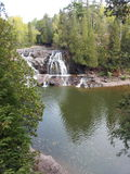 Waterfall. Nature duluth gooseberry falls Stock Photo