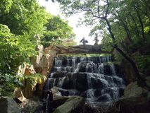 Waterfall, Nature, Nature Reserve, Body Of Water royalty free stock photo