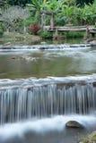 Waterfall in nature resort chiangmai Stock Photos
