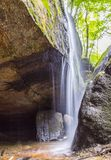 Waterfall, nature, stones, north east ohio, cleveland, oh, usa stock images