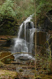 Waterfall, NE Georgia. A seasonal waterfall found here in Unicoi State Park, near Helen royalty free stock photo