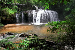 Waterfall near chiang mai thailand Royalty Free Stock Photo
