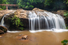 Waterfall near Chiang Mai Stock Photography