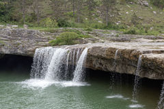 Waterfall near the city Pazin. In Croatia Stock Photo