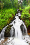 Waterfall near Deadwood South Dakota Stock Photo