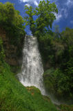 Waterfall near Edessa, in Greece Stock Image