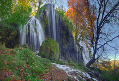 Waterfall near Etropole, Bulgaria Royalty Free Stock Image