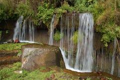 Waterfall near Gudauri, Georgia Royalty Free Stock Images