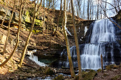 Waterfall near Hamilton, ON, Canada Stock Photography