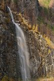 Waterfall near Marblemount, Washington Royalty Free Stock Images