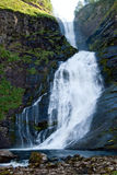 Waterfall near Moskog in Western Norway Royalty Free Stock Image
