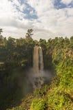 Waterfall near Nakuru. Thompson fall. Royalty Free Stock Images