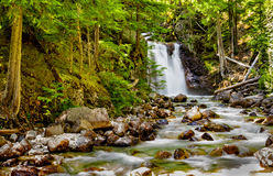 Waterfall. Near Nakusp Hot Springs British Columbia Canada Stock Image