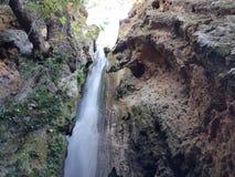 Waterfall near Parga royalty free stock photo