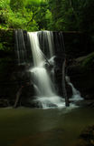 Waterfall near San Gil in Colombia Royalty Free Stock Photos