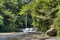 Waterfall near San Gil Stock Image