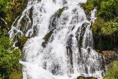 Waterfall near Stenico (Trento) royalty free stock photos