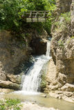 Waterfall Near The Dryanovo Monastery In Bulgaria Stock Photography