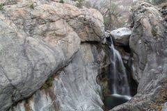 Waterfall near to Karlovo, Bulgaria Royalty Free Stock Photography