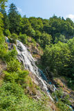 Waterfall near Todtnau, a town in  Black Forest in Germany Stock Photo