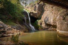Waterfall. Near Veliko Tarnovo, Bulgaria Stock Image