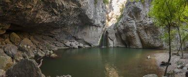 Waterfall. Near Veliko Tarnovo, Bulgaria Stock Photo