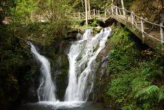 Waterfall near Wuyishan Mountain, Fujian province, China Stock Photo