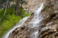 Waterfall near Yalta Stock Photos